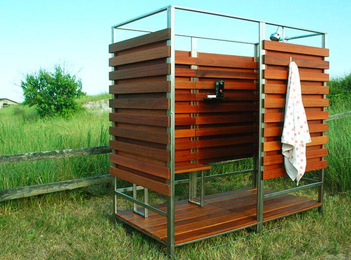 Как построить душ на даче своими руками фото