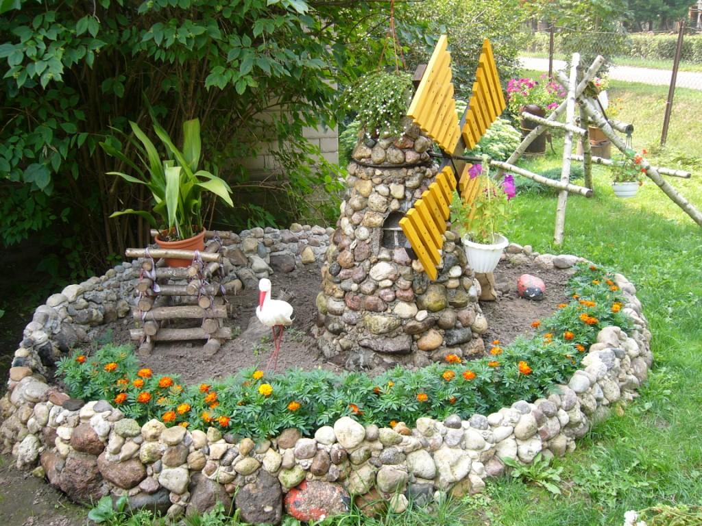 Дизайн садового участка своими руками с фото