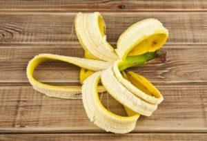Подкормка из банановой кожуры для рассады