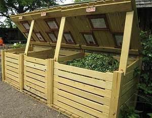 Варианты садовых компостеров
