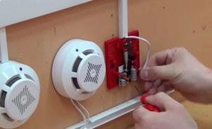 Как сделать пожарную сигнализацию на даче