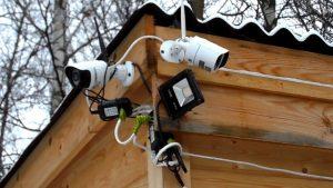 Системы видеонаблюдения для дачи