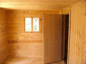 Как правильно установить двери в бане