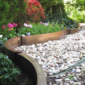 Как сделать садовый бордюр своими руками