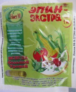 Как применять средство эпин для рассады помидоров