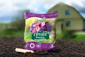 Почва для фиалок