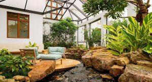 Как сделать зимний сад в частном доме своими руками