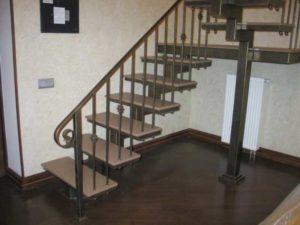 Перила для металлических лестниц
