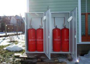 Для чего нужны газовые баллоны на даче и где их можно заправить