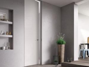 Где заказать двери-невидимки под покраску и в чем их особенность