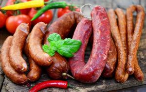 Разные виды оболочек для колбасы